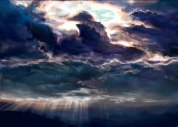 Darkest clouds by Harkale-Linai