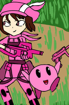 Llen and Kirby killers in pink