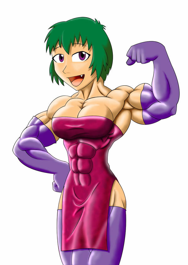 pretty muscle girl by astaroth90 Emoticons have evolved to another level in Taiwan after users started making ...