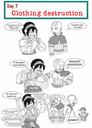 30 Days muscle challenge - That mighty need by astaroth90
