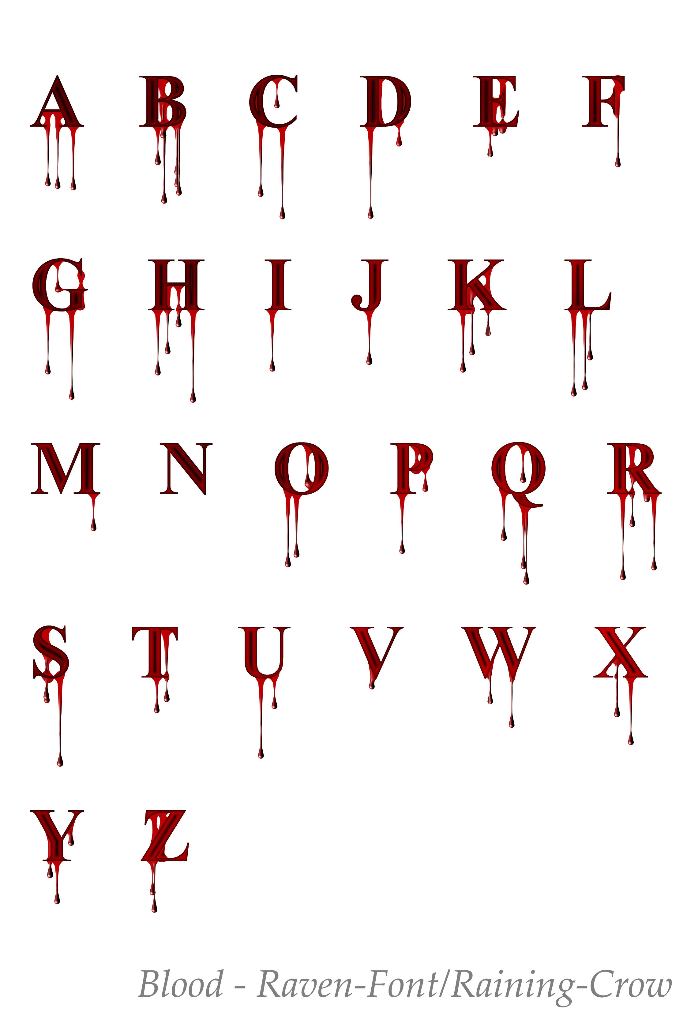 write bloody Write a spooky message with the blood on the wall, that looks like the one that murderer leaves to his next victim in horror movies advert.