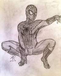 The Amazing Spidey - Sketch