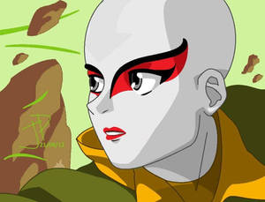 avatar aang (kyoshi version)