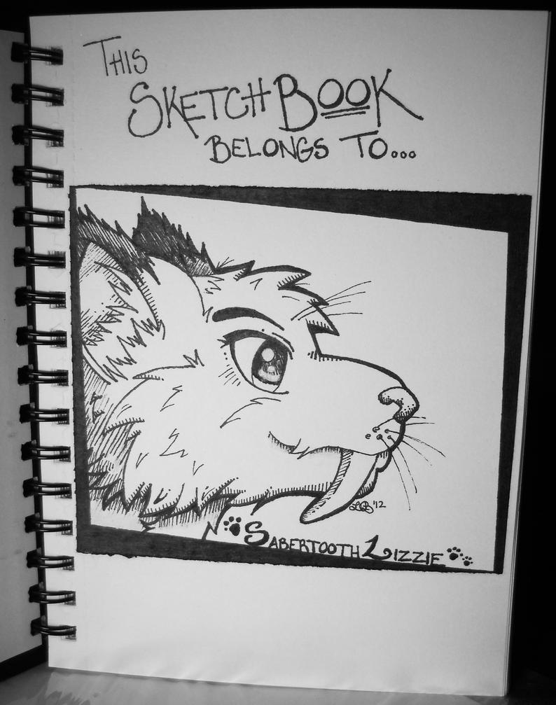 Sketch Book Cover : New sketchbook title page by nocturnalmoonwolf on deviantart