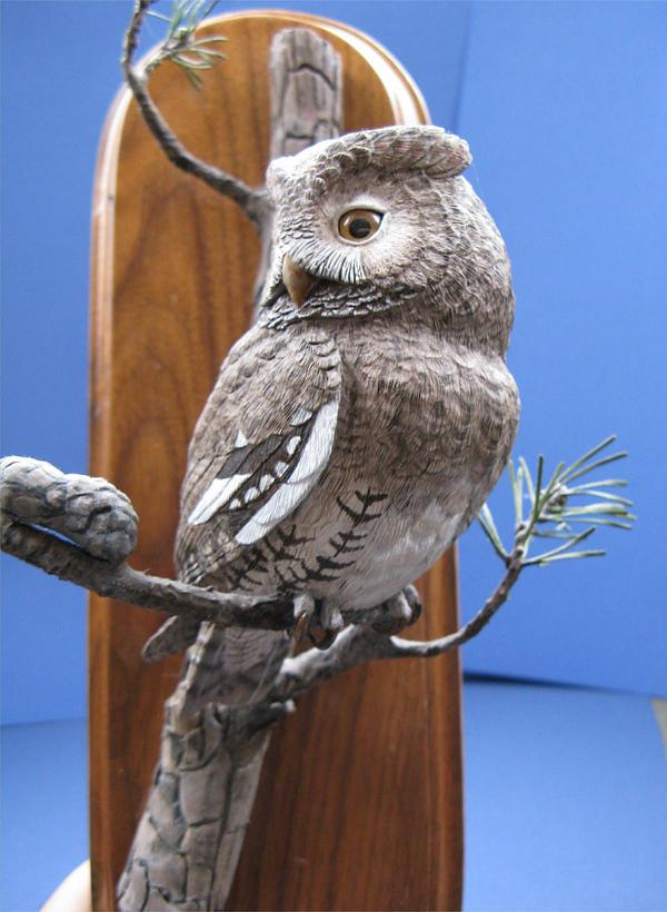 Miniature Screech Owl 2 by Bagheera3