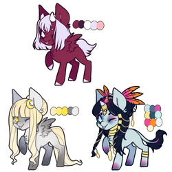 + themed mystery adopts closed + by starryeggs