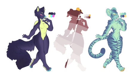 + mystery furry adopts + by starryeggs
