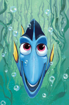 Finding nemo Issue 4 cover