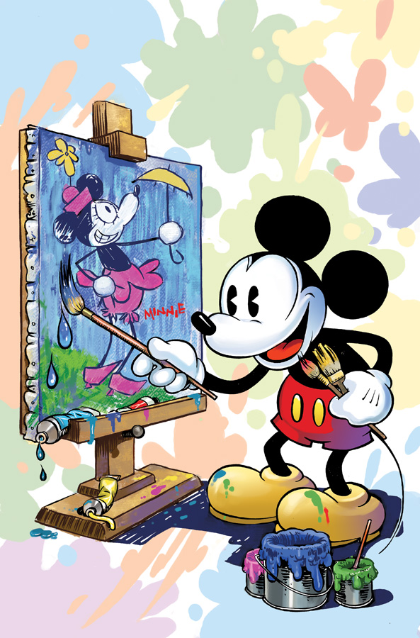 Mickey mouse cover issue 304 by lazesummerstone on DeviantArt