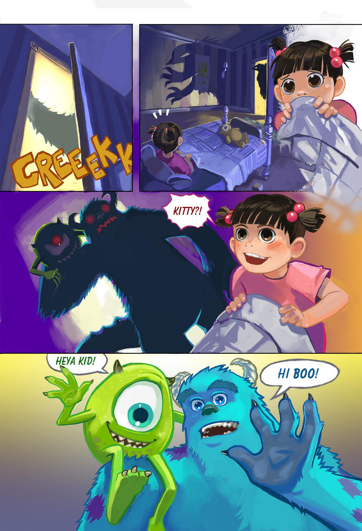 Awesome Monster Inc Sample Page 3 By Lazesummerstone ...