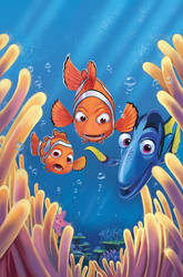 Finding Nemo cover 3 by lazesummerstone