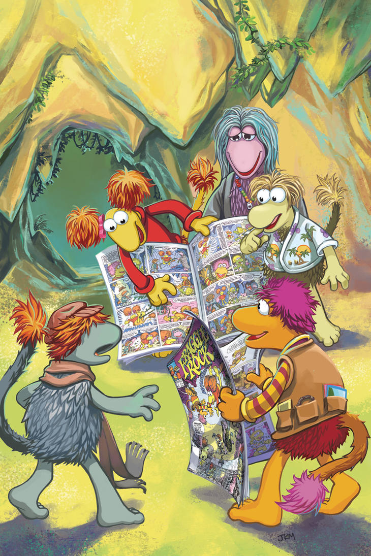 fraggle collection Volume 2 by lazesummerstone