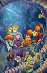 Fraggle Rock Issue 3 cover