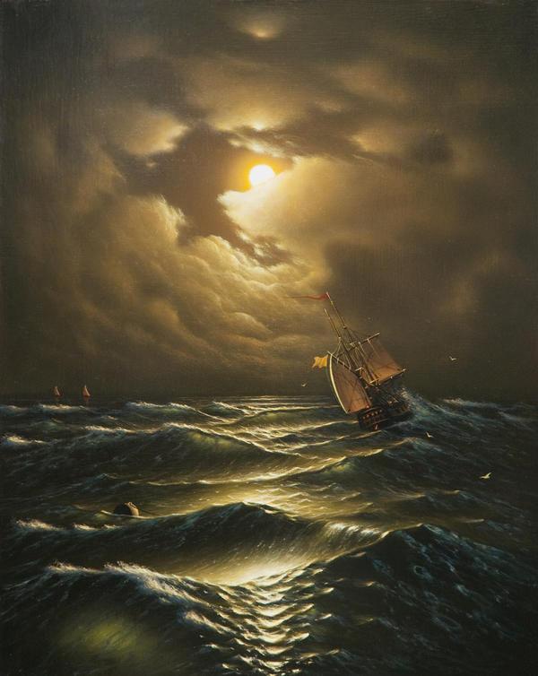 Tempest sea by uvar