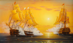 Sea fight by uvar