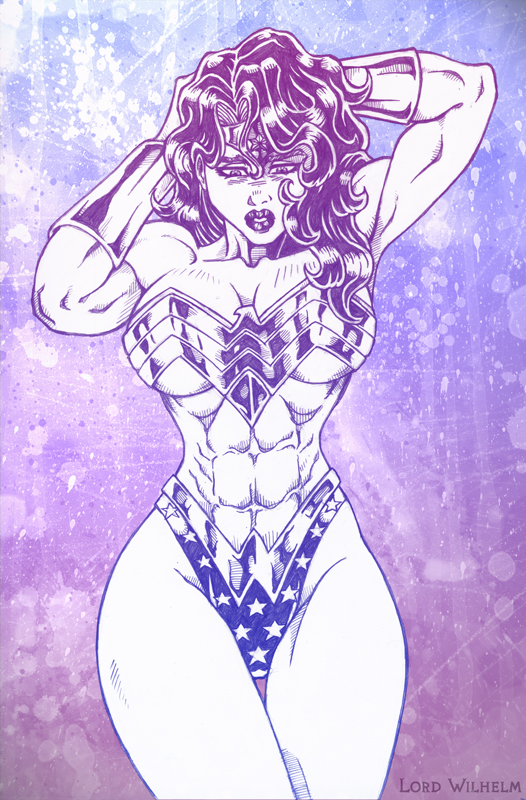 Wonder Woman by LordWilhelm