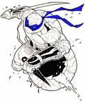 TMNT Leonardo Sketch
