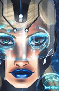 Cyber Blue Girl 2.0
