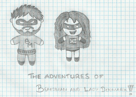 Beardman and Lady Denmark by Fingo007
