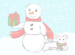 Snowman by emiwemi495