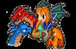 Ogre Battle 64 Dragon Master and Dragons by Zargata