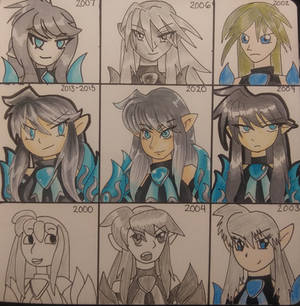 Style Challenge: My old art styles!