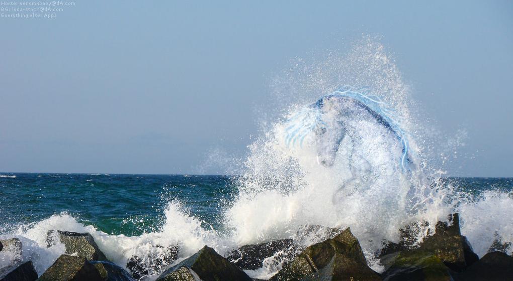 Splashing by AppaArt