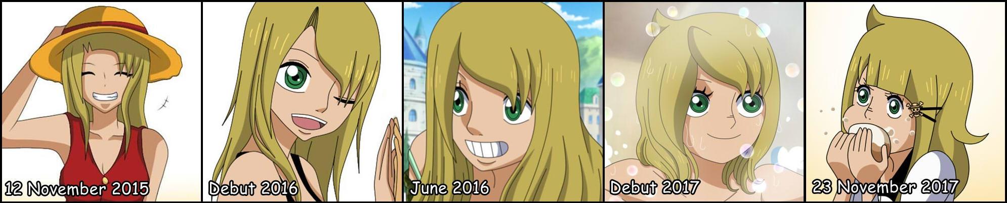 OP OC | Evolution of Erika ! by RosiieChan