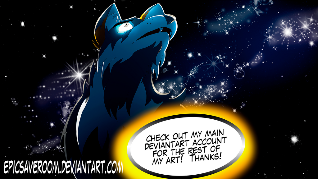 The Evil Cassidy gazes up to the heavens by canineart2018