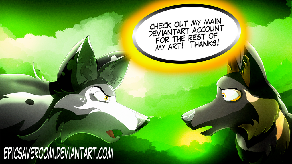 A Tense Moment (Check out my other DA) by canineart2018