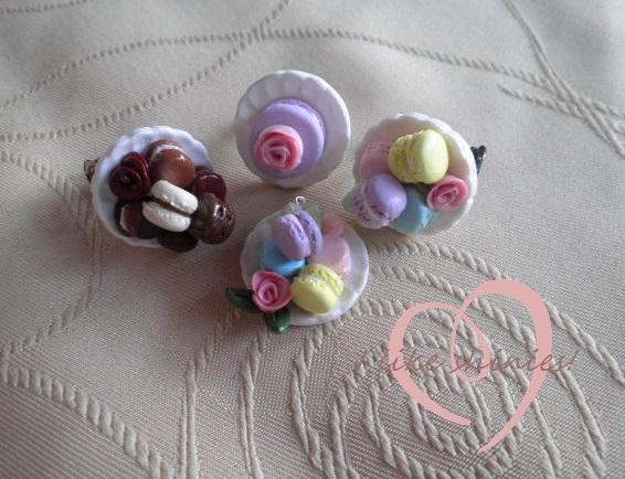 Various Macaron Jewellery by ilikeshiniesfakery