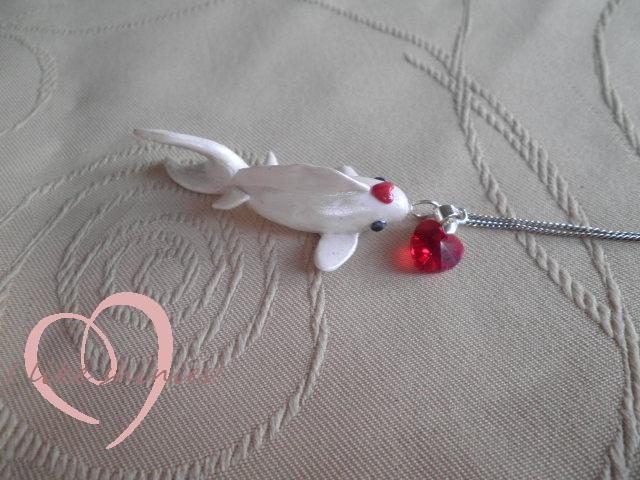 Koi fish pendant by ilikeshiniesfakery
