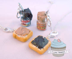Scented Peanut Butter and Nutella BFF deluxe set by ilikeshiniesfakery