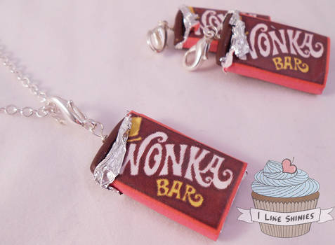 Scented Wonka Bar necklace