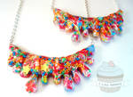 Candy blood necklace