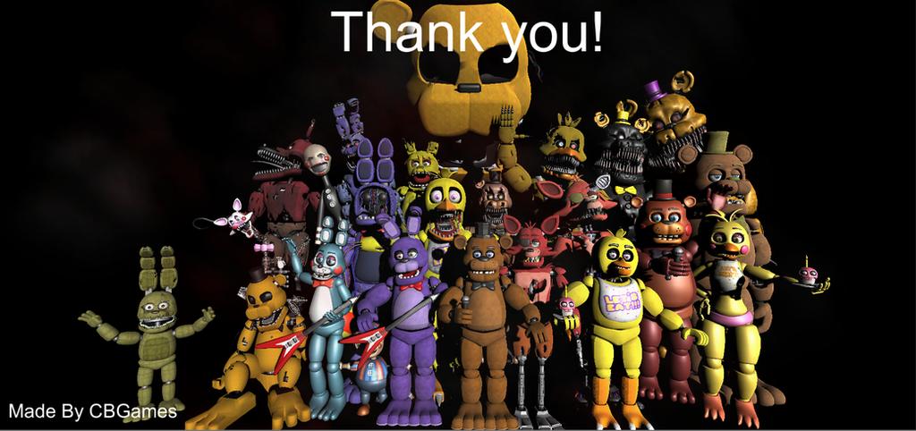 Fnaf thank you remake unity 3d by cb games on deviantart