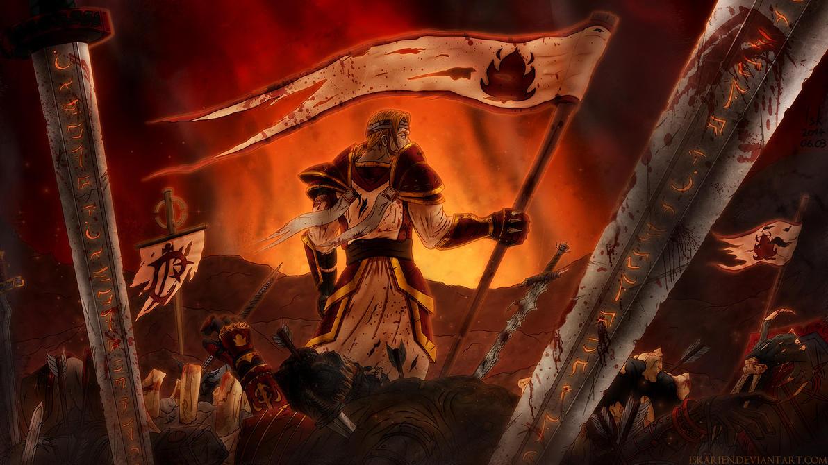Crimson Wrath by Iskarien