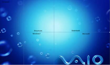 Desktop divider background