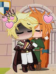 Bromatic kiss but Prince John is a king in Notting