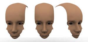 3D Human Face - WIP