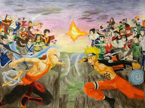 Avatar VS Naruto