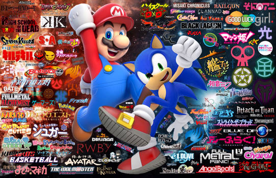 Mario, Sonic and the A.V.G.D.U / Otaku Universe