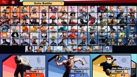 Disney Smash Bros. Ultimate Roster