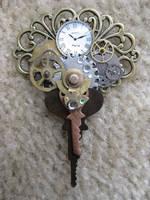 Steampunk pendant by xxPRECIOUSMOMENTSxx