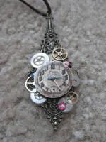 Steampunk Necklace 2 by xxPRECIOUSMOMENTSxx
