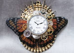 Steampunk Necklace - Butterfly