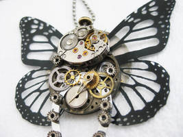 Steampunk Butterfly 2 Closeup by xxPRECIOUSMOMENTSxx