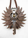 Steampunk Necklace - Wings