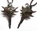 Steampunk Light Up Necklace