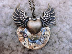 Steampunk Winged Heart